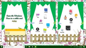 Freebie Screen Desktop Organizer