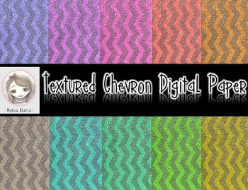 Textured Chevron Digital Paper