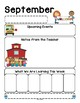 Freebie September Themed Newsletter Template