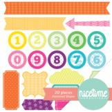 Patterned Shape Kit- Freebie 20 Pack