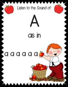 Freebie: Short Vowel Posters