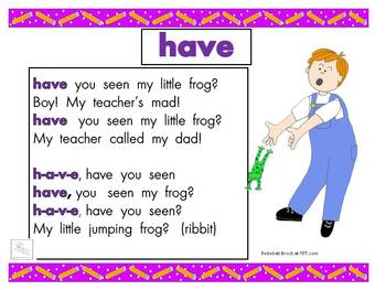"""Freebie! Sight word songs for """"girl,"""" and """"boy"""""""