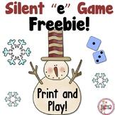 Freebie! Snowman Silent e Game