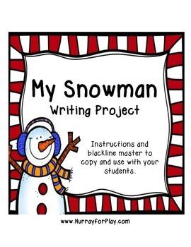Freebie: Snowman Writing Activity (English)