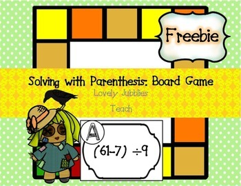Freebie:Solving with Parenthesis Board Game