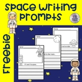 FREE Space Writing Prompts | No Prep Writing Center