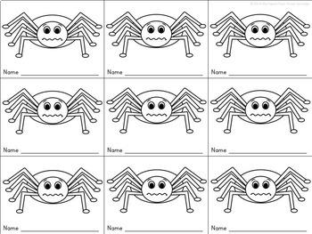 {Freebie} Spider Graphing