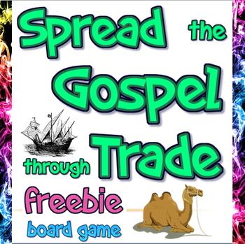 Freebie: Spread the Gospel through Trade board game