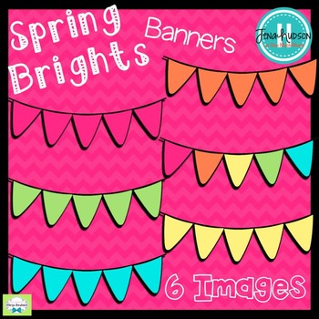 **Freebie** Spring Bright Banners