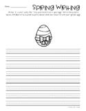 Freebie: Spring / Easter: Golden Egg Creative Writing Center
