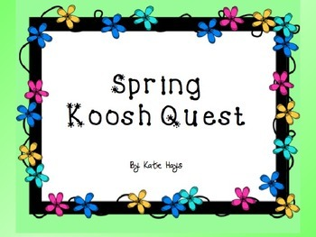 Freebie: Spring Koosh Quest with Ta and Ti-Ti