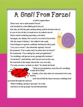 Freebie Spring Poem