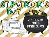 Free St. Patrick's Day Math Printables {2nd grade}