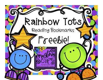 {Freebie!} Star Reader Bookmarks {Creative Clips Digital Clipart}