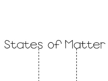 ~Freebie: States of Matter Foldable Booklet!