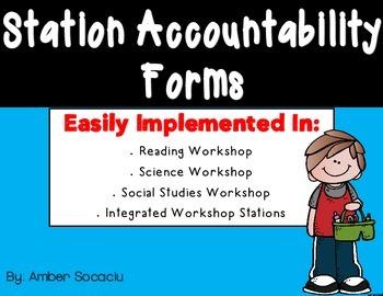{Freebie} Station Accountability Forms