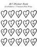 {Freebie!} Sticker Books!