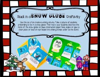Freebie! Stuck In a Snowglobe