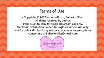 Freebie!- Student Emotional Self Regulation sheet
