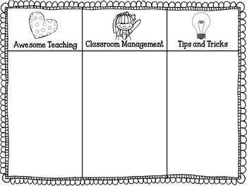 {Freebie} Student Teacher or Intern Observation Sheet