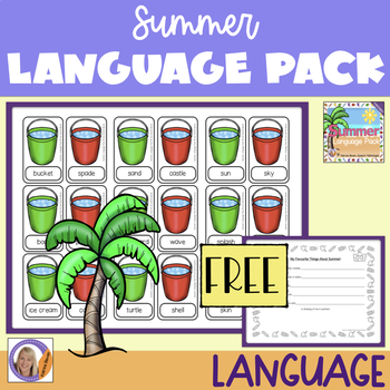 Freebie! Summer Language Pack
