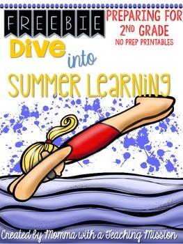 Freebie Summer Learning