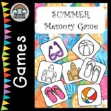 Freebie! Summer Memory Game