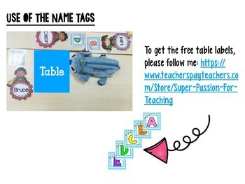 Freebie Super Hero Name Tag Editable Classroom Resources | TpT