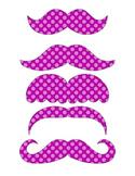Freebie- Super Hero Purple Mustaches Printable Photo Booth