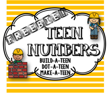 Freebie! TEEN Numbers