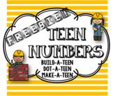 Freebie! TEEN Numbers