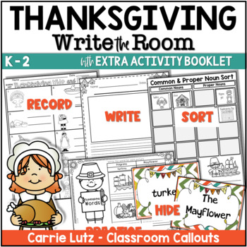 THANKSGIVING Writing with Fun Activities