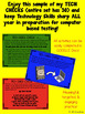 Freebie Technology Test Prep:  Keyboarding practice quick checks! (Yearlong set)