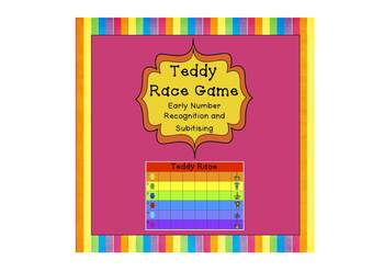 Freebie - Teddy Race – Early Number Recognition and Subiti