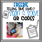 Freebie Telling Time with 2.MD.7