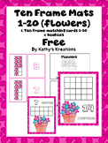 Freebie Ten Frame Mats 1-20 & Matching Cards 1-10 & Booklet