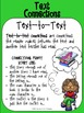 Freebie Text Connections Classroom Posters