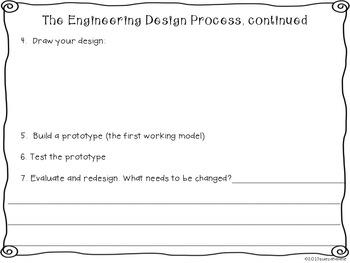 Freebie! The Engineering Design Process {science}