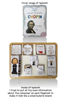 Freebie - The Great Composers lapbook series - Chopin
