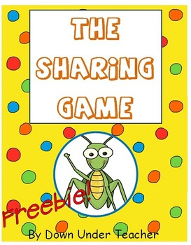 Freebie: The Sharing Game - division concept