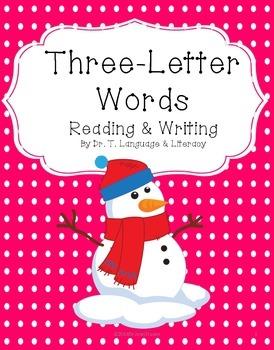 Freebie: Three-Letter Words
