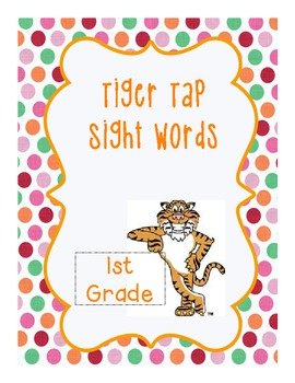 Freebie! Tiger Tap Sight Words Aligned w/ Dolch Lists