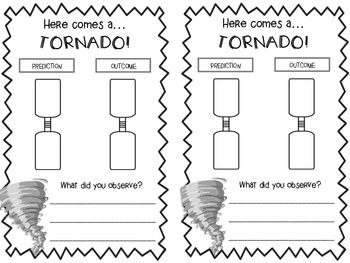 Tornado In A Bottle Worksheets & Teaching Resources | TpT