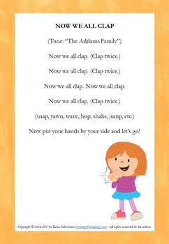 Freebie - Transitions and Attention Grabbers {Kindergarten}