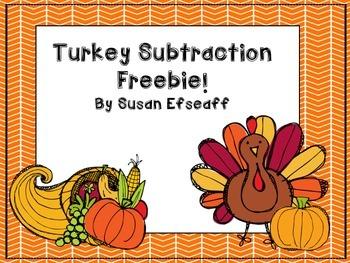 Freebie - Turkey Subtraction