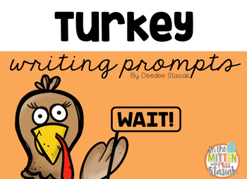 Freebie Turkey Writing Prompts