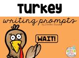 Freebie Turkey Writing Prompts
