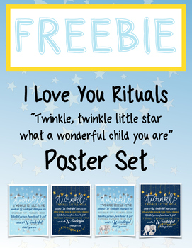 Freebie Twinkle Twinkle I Love Your Ritual Poster