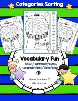Freebie -VOCABULARY  Activities