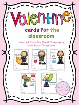 Freebie: Valentine's day musical cards